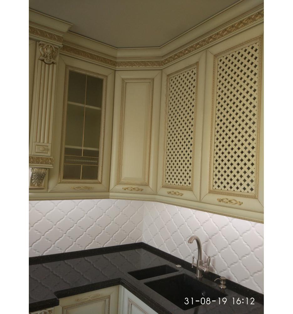 Столешница в кухню Тристоун цвет FG-196 Gold Leaf