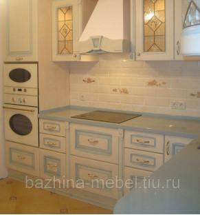Столешница в кухне Corian, цвет Aqua-2