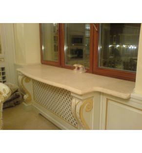 Стол-подоконник из искусственного камня